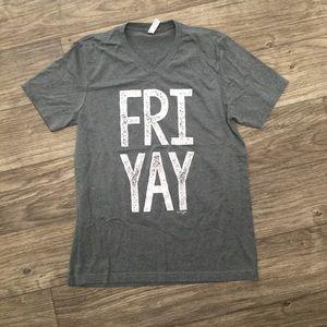 Tops - Friyay statement tee